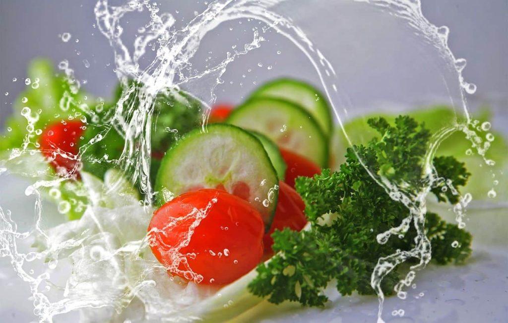 ozono para desinfectar alimentos