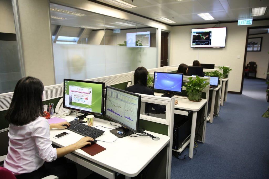generador de ozono en oficinas